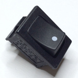 ROCKER SWITCH 125V 10A (ON)-OFF 46-146J-0