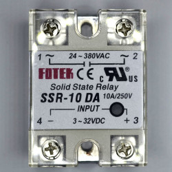 SOLID STATE RELAY,DC/AC,3-32VDC I/P,10A