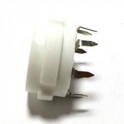 TUBE CERAMIC SOCKET 8-PIN
