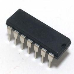 IC CMOS 4070 - QUAD 2 INPUT...