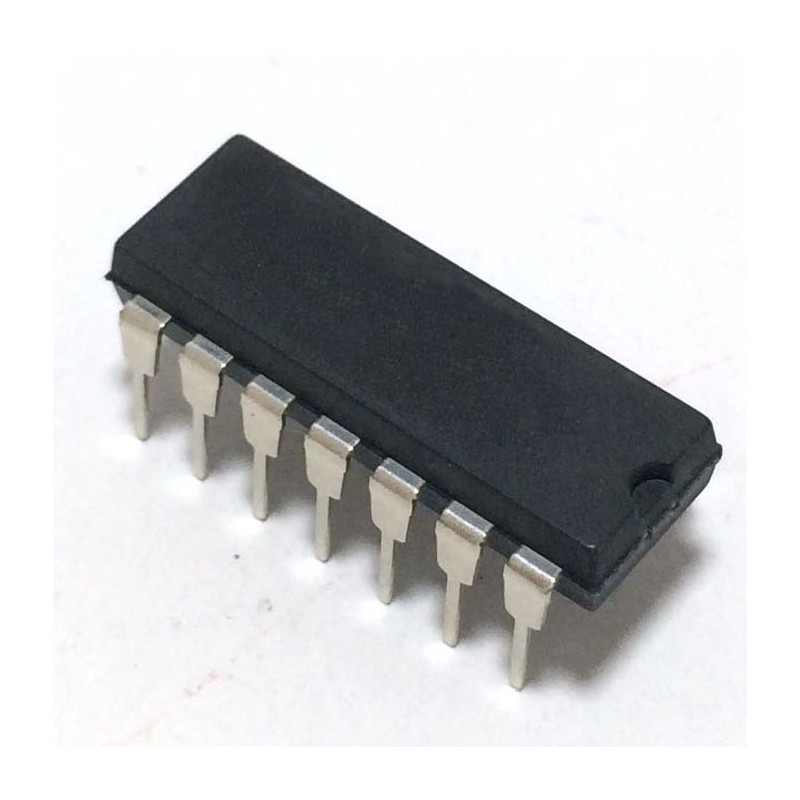 IC 74LS33 QUAD 2-INPUT NOR BUFFER WITH OPEN COLLECTOR OUTPUT