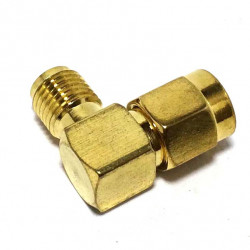 SMA(M) - SMA(F) RIGHT-ANGLED EXTENSION ADAPTER