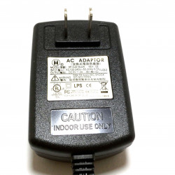 POWER ADAPTER, AC/DC, SWITCHING, 9V, 2A, CEN +