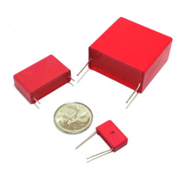 WIMA CAP 250V 0.1UF MKC-4
