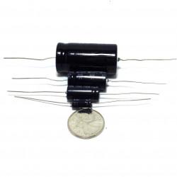 ELECTROLYTIC CAP 50V 3.3UF AXIAL BI-POLAR 4PCS