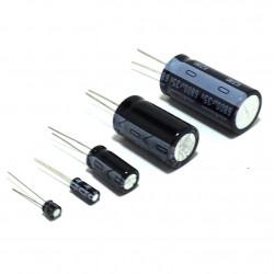 ELECTROLYTIC CAP 25V 10UF 10PCS