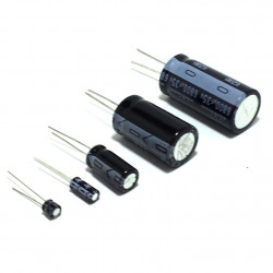ELECTROLYTIC CAP 25V 2200UF 2PCS