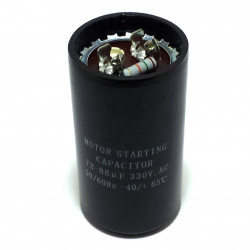 MOTOR START UP CAP, 330VAC, 72-88UF
