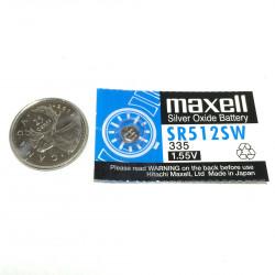 BATTERIES MAXELL 335 SR512SW 1.55V