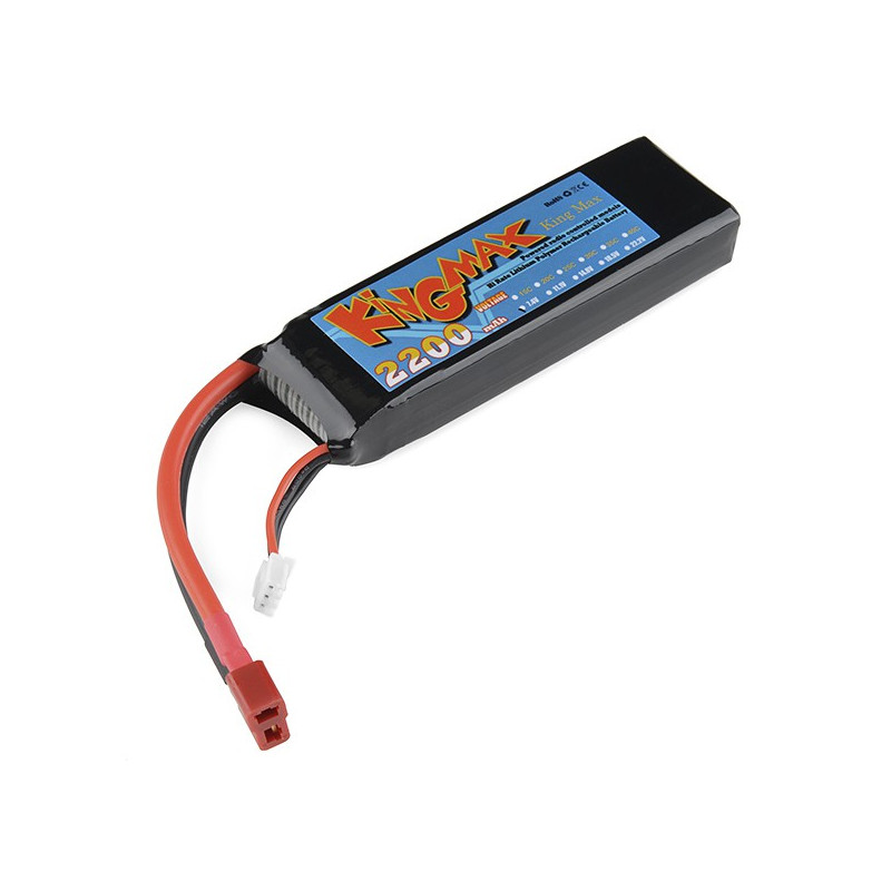 BATTERY POLYMER LITHIUM ION 7.4V 2200MAH