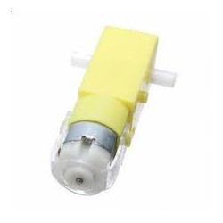PLASTIC GEAR  MOTOR 90-DEG OUTPUT 6V DUAL SHAFT