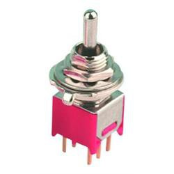 TOGGLE SWITCH, MINI, ON-ON-ON,
