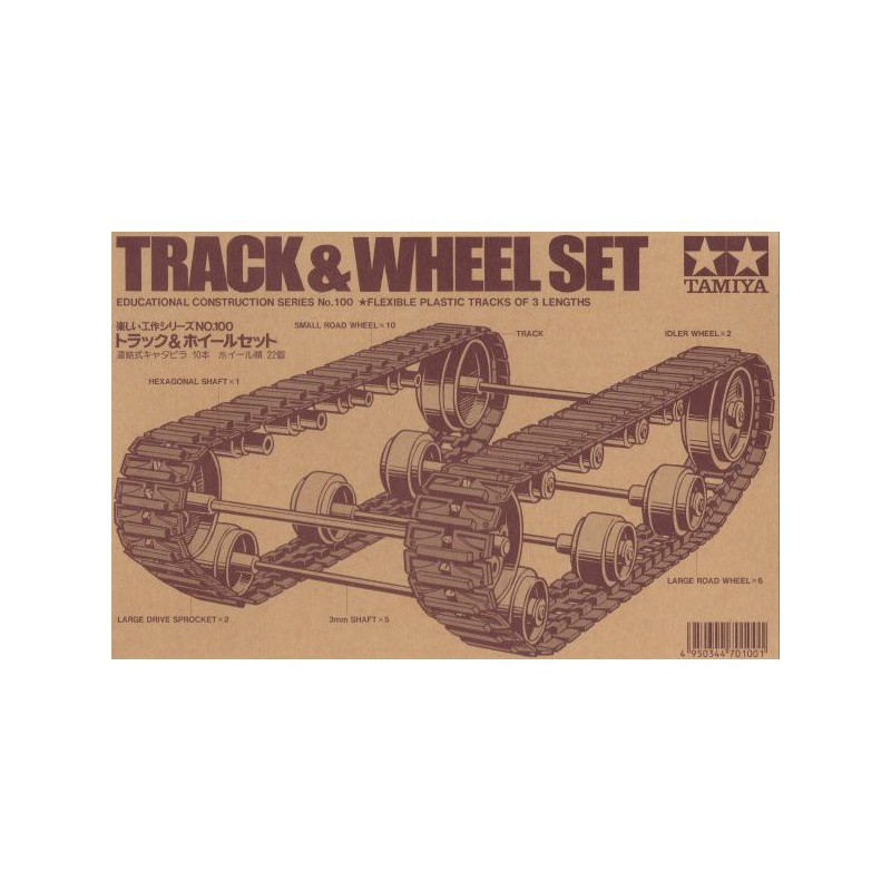 TAMIYA TRACK & WHEEL SET