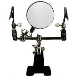 TOOL, HELPING HAND, W/ MAGNIFYING GLASS