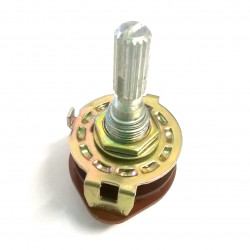 ROTARY SWITCH 6P/2T METAL FRAME