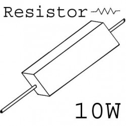 RESISTORS 10W 6.8OHM 5%
