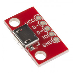BREAKOUT BOARD FOR USB MICRO B