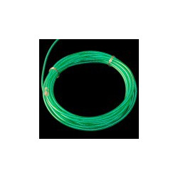EL WIRE, PRE-ASSEMBLED, GREEN, 3 METER ( CHASING)