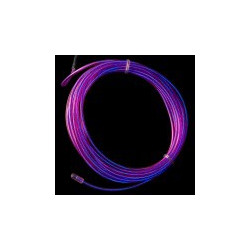 EL WIRE, PRE-ASSEMBLED, PURPLE, 3 METER (CHASING)