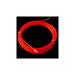 EL WIRE, PRE-ASSEMBLED, RED, 3 METER (CHASING)