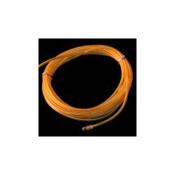 EL WIRE, PRE-ASSEMBLED, YELLOW, 3 METER (CHASING)