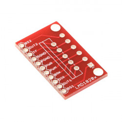 BREAKOUT BOARD FOR LMD1820X H-BRIDGE