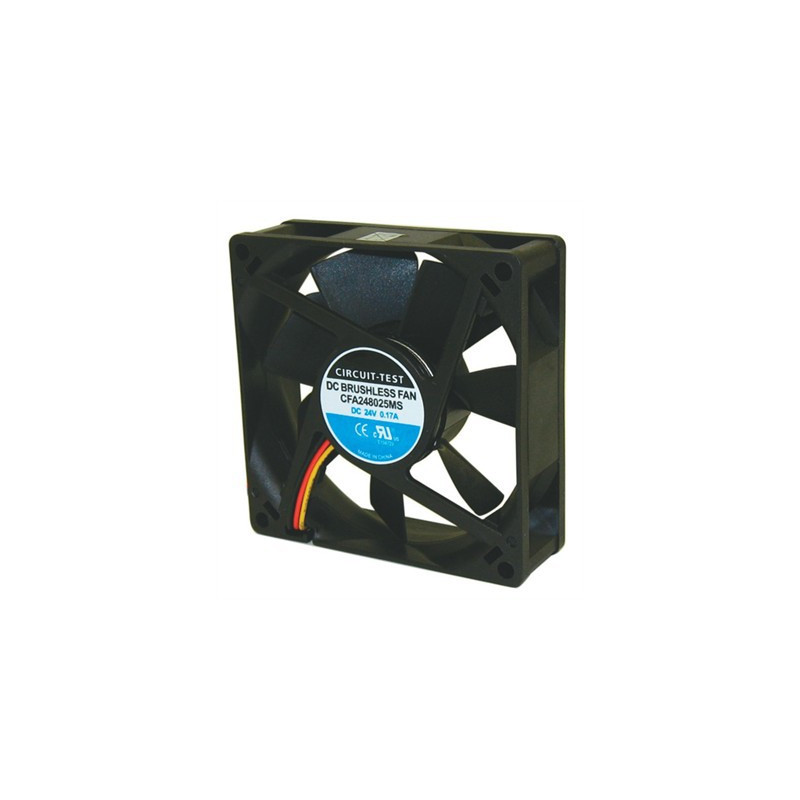 FAN 80 x 80 x 25mm 24VDC AXIAL FP-108D CFA248025MS