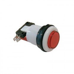 PUSH BUTTON SWITCH PS-300C1 RED MOMENTARY