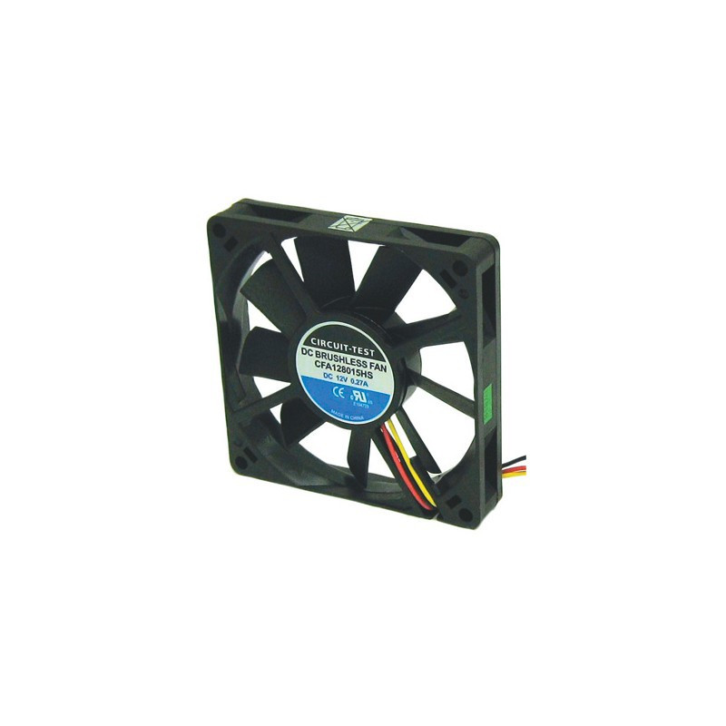 FAN 80 X 80 X 15MM 12VDC 39CFM (CFA128015HS)