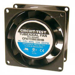 FAN 80 X 80 X 38MM 115VAC 32CFM AXIAL CFA1158038HB
