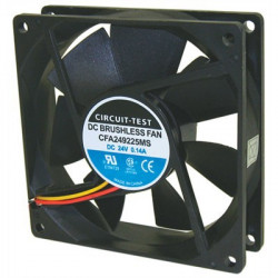 FAN 24VDC 3.4W 92x92x25MM CFA249225MS