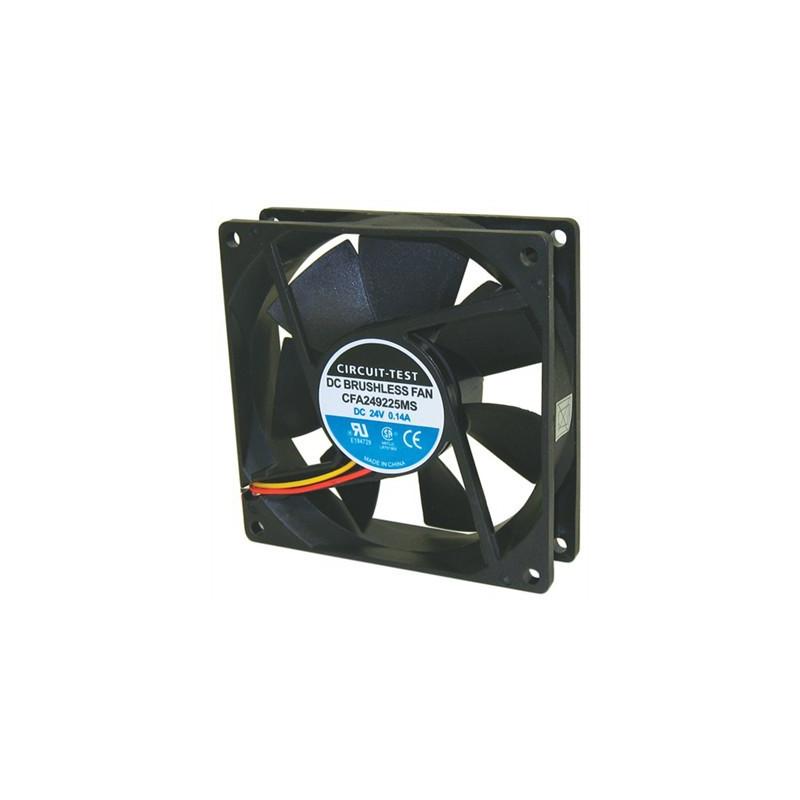 FAN 24VDC 3.4W 92x92x25MM CFA249225MS