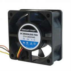 FAN 60X60X25MM 12V DC CO-6253