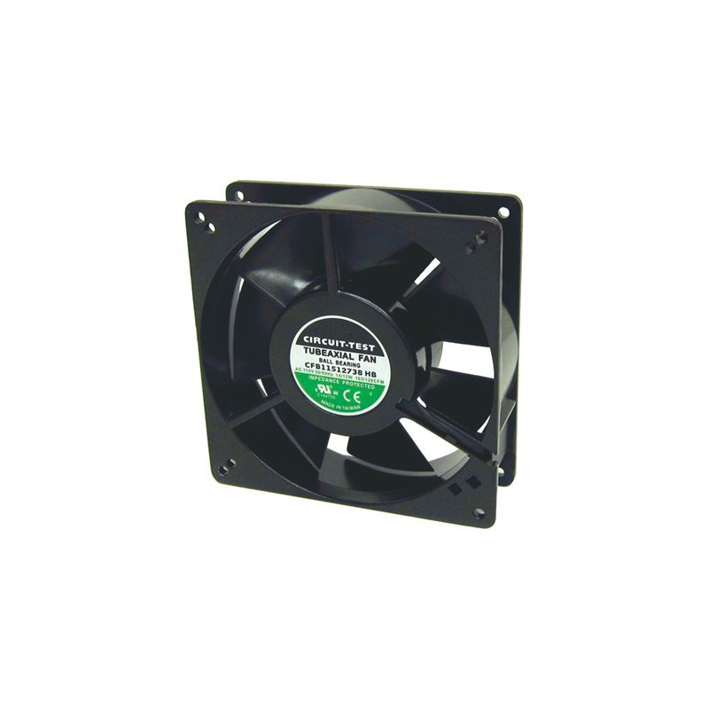 "FAN 120X120X38MM 120VAC 120CFM W/ 1/8"" TABS CFB115"