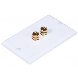 WALL PLATE 1 SPEAKER HIGH QUALITY GOLD