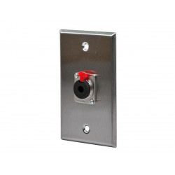 "WALL PLATE 1/4"" TRS JACK"