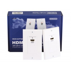 HDMI OVER CAT5E/CAT6 EXTENDER WALL PLATE