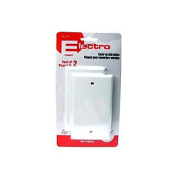 WALL PLATE - BLANK COVER 2PC/PKG
