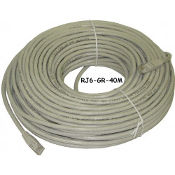 ETHERNET CABLE, CAT6, 20M, 66FT