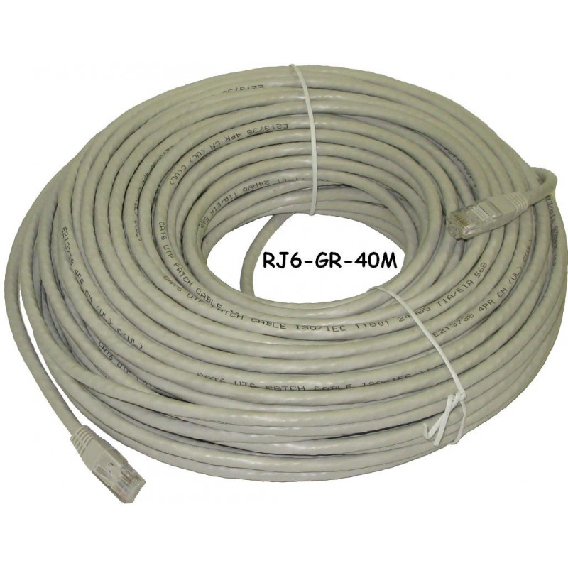 Ethernet cable cat5e 20m 65 6ft lee 39 s electronic - Cable ethernet 20m ...