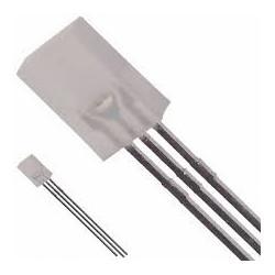 LED SQUARE BI-COLOR LED R/G