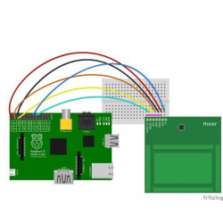 HOVER - GESTURE AND TOUCH SENSOR BOARD