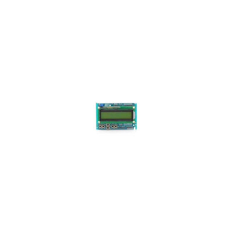 ARDUINO LCD KEYPAD SHIELD (GREEN)