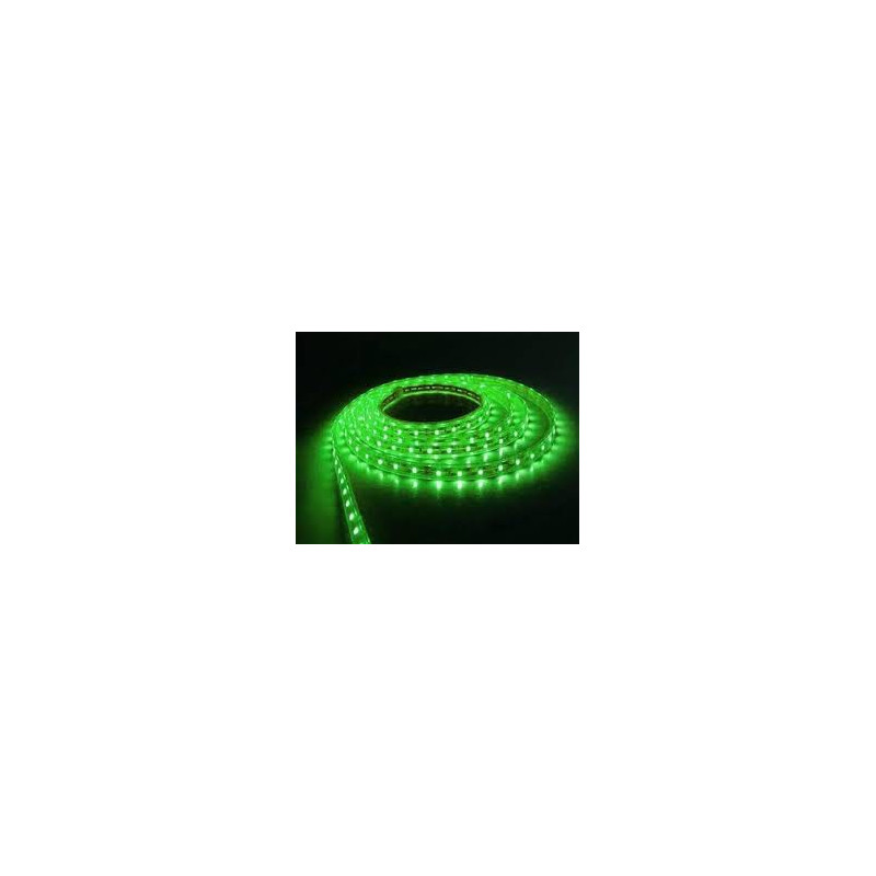 LED STRIP, 3528, 120LED, GREEN, /1M