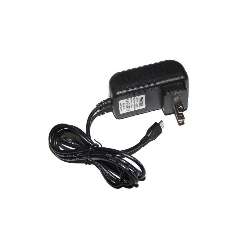 RASPBERRY PI POWER ADAPTER 5V 2A USB MICRO 1M CORD