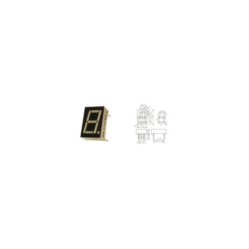 LED 7-SEGMENT DISPLAY CATHOD HS-5161AS