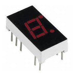 LED 7-SEGMENT DISPLAY CATHODE C315