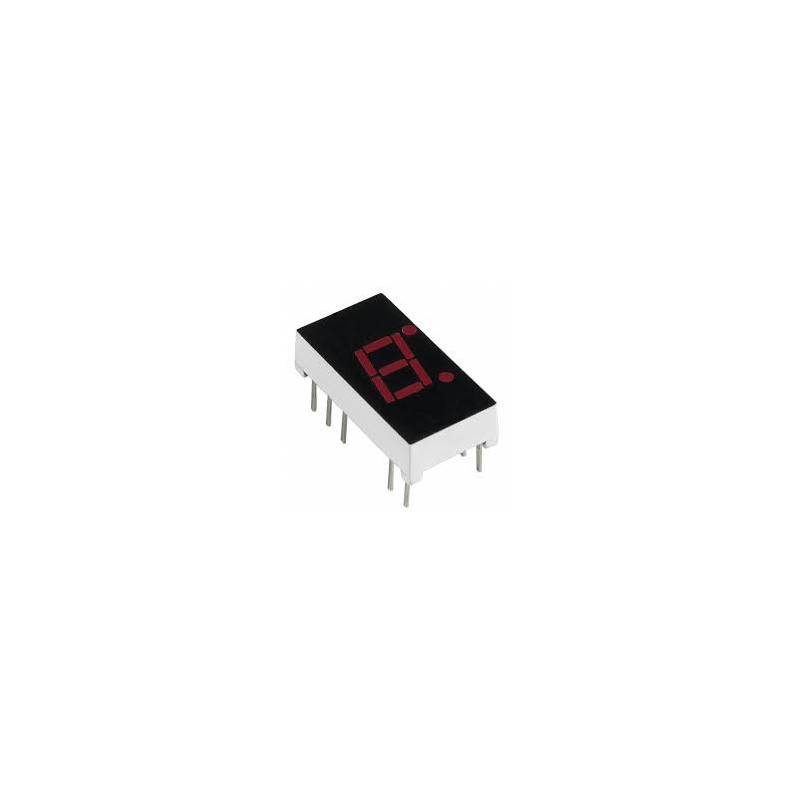 LED 7-SEGMENT DISPLAY ANODE A315/MAN74A