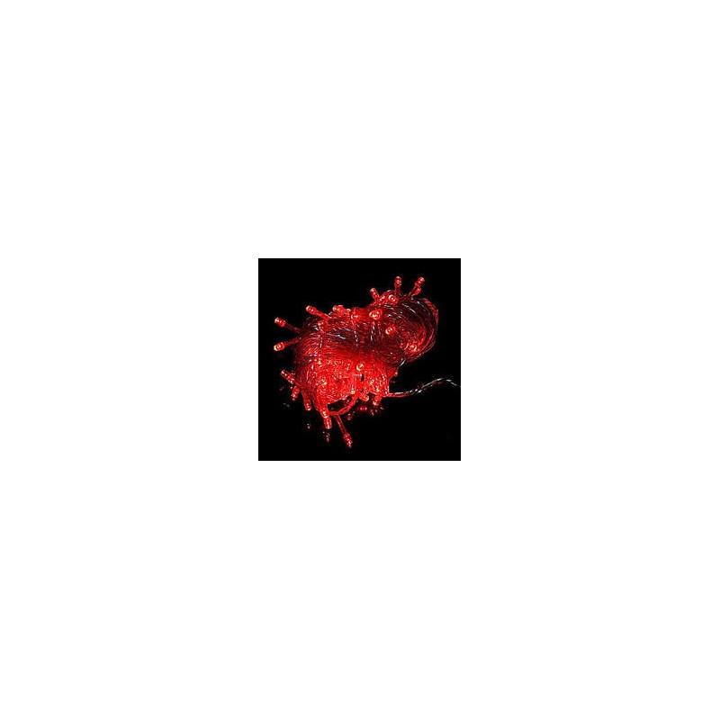 LED STRING LIGHT RED 110V 10M 100LED - Lee s Electronic