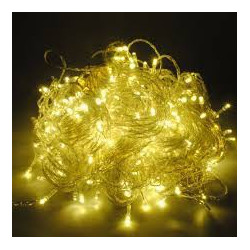LED STRING LIGHT YELLOW 110V 10M 100LED